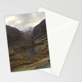 Glencoe, Scotland - Moody Sky Over the Highlands Stationery Cards