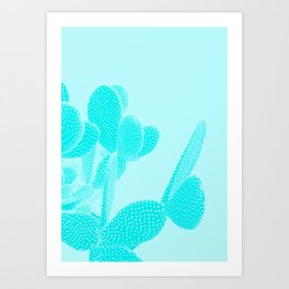 Opuntia Art Print