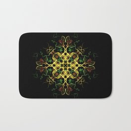The Evening Star Merry Christmas and Happy New Year !! Bath Mat
