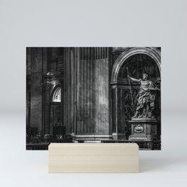 Inside The Vatican Mini Art Print