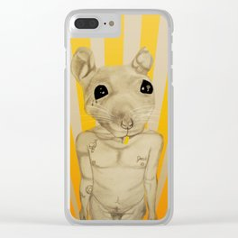 Common Street Rat Clear iPhone Case