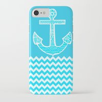 anchor iPhone & iPod Cases featuring Anchor by haroulita