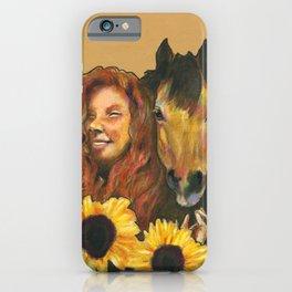 Queen of Wands iPhone Case