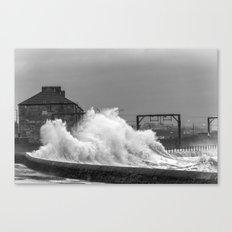 Stevenston Storms Canvas Print