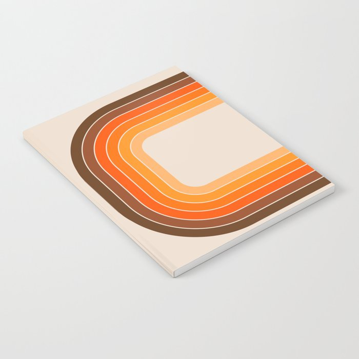 Tan Tunnel Notebook