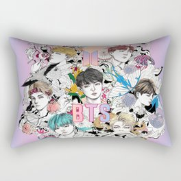 BTS Members -Love Yourself Rectangular Pillow