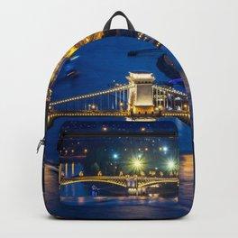 Budapest Night City Backpack