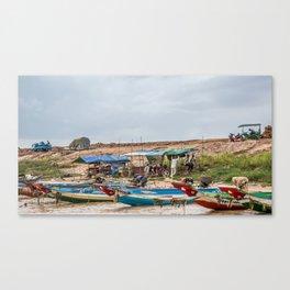 Chong Khneas Floating Village XVII, Siem Reap, Cambodia Canvas Print