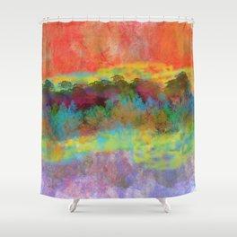 An Extraordinary Landscape Shower Curtain