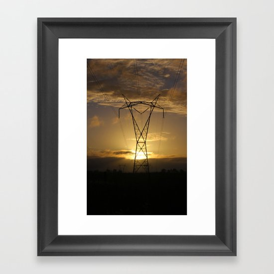 Power and Beauty Framed Art Print