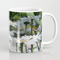 A Garden of White Daisy Flowers Mug
