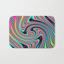 Colorful stripes Bath Mat