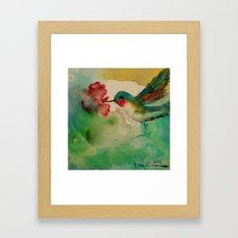 'Color Me Happy' Framed Art Print