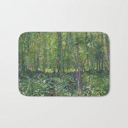 Vincent Van Gogh Trees and Undergrowth Bath Mat