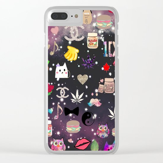love it-325 Clear iPhone Case