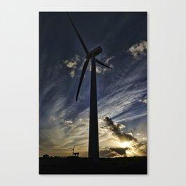 Turbines Canvas Print