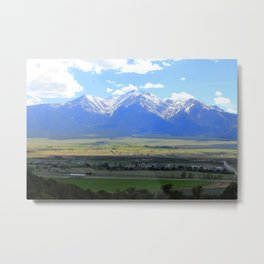Colorado mountain Range Metal Print