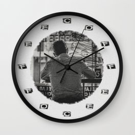 DO NOT DISTURB - Coffee Time Wall Clock