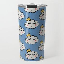 April showers king cloud Blue #nursery Travel Mug