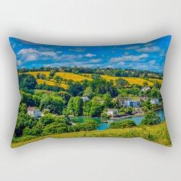 Mylor Creek - Golden Fields Rectangular Pillow