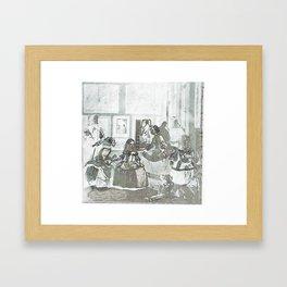 las pequeñas bebedoras de cola Framed Art Print