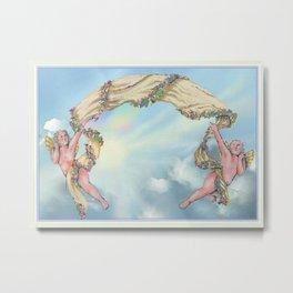 Rainbow Angels  Metal Print
