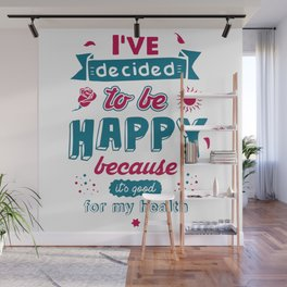 Happy Wall Mural