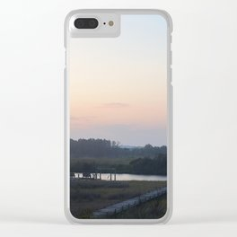 toward the mainland Clear iPhone Case