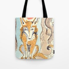 Whimsical Fox Tote Bag
