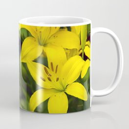 Yellow Lilies Coffee Mug