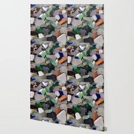 Sea Glass Assortment 6 Wallpaper