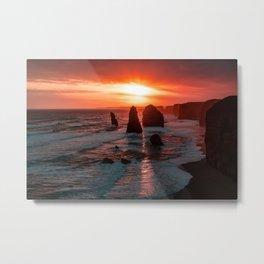 12 Apostles, Nature and wildlife, Great Ocean Road, Victoria, Australia Metal Print