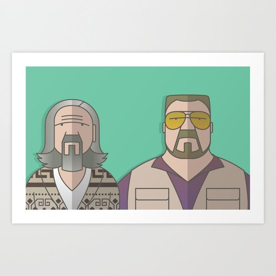 The Odd Couple Art Print