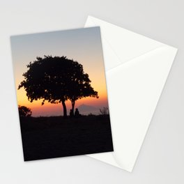 An African Sunset Stationery Cards
