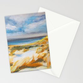 The Dunes in Ostend Stationery Cards