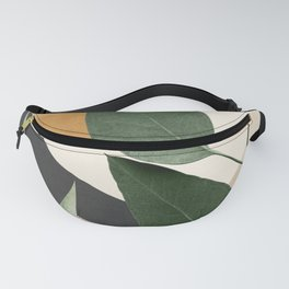 Abstract Art Tropical Leaves 8 Fanny Pack