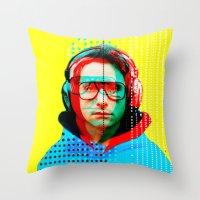 beastie boys Throw Pillows featuring Gioconda Music Project · Beastie Boys · Adam Horrovitz by Marko Köppe