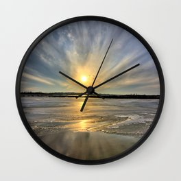 Rayed Marsh Wall Clock