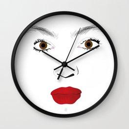 """My Beauty"" by Keith Moses Wardlaw A.K.A. kmoses215 Wall Clock"