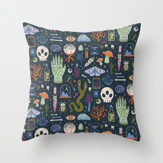 Curiosities Throw Pillow