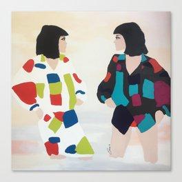 WONDER TWINS Canvas Print