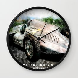 Auto Union Type D Wall Clock