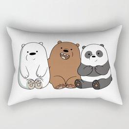 We Bare Bears Rectangular Pillow