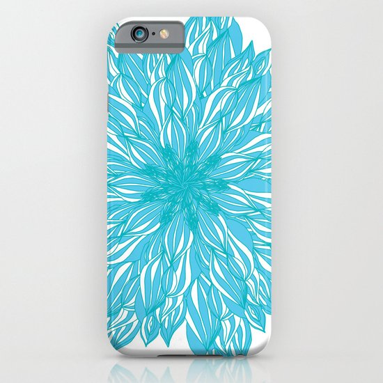 Blue flow er iPhone & iPod Case