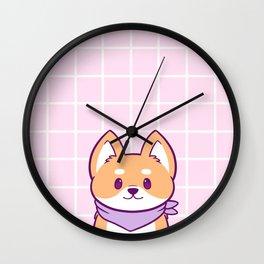 Good Doggo Wall Clock