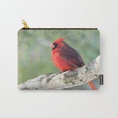Serene Cardinal Carry-All Pouch