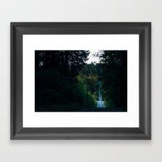 Northwest Backroads Framed Art Print