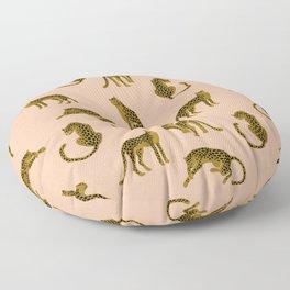Blush Leopard Pattern Floor Pillow