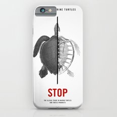 Protect Marine Turtles Slim Case iPhone 6s