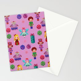 Pink Christmas - The Nutcracker Edit View Stationery Cards